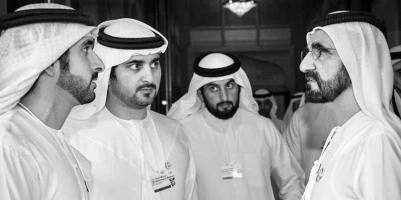HH Sheikh Hamdan and two of his brothers have officially tied the knot!