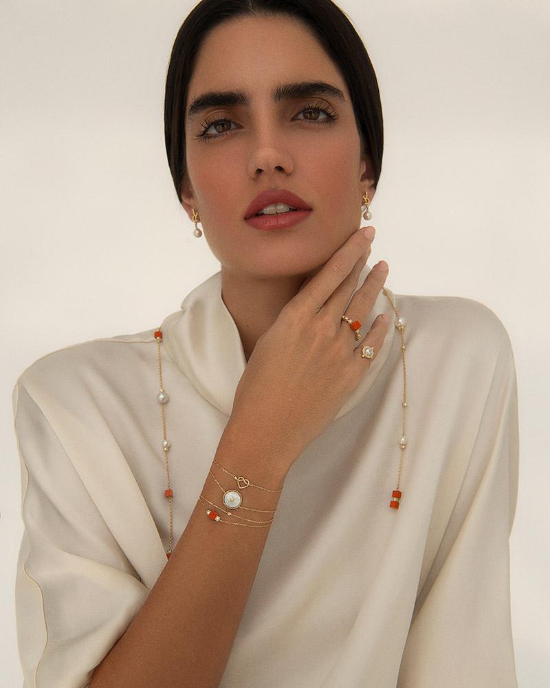 MKS Jewellery emirati pearls 4 HRH Sheikha Mariam bint Khalifa bin Saif Al Nahyan