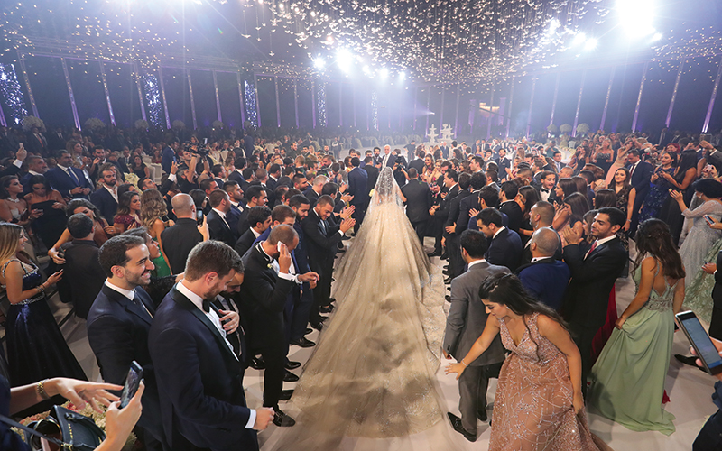 lebanese wedding zuhair murad
