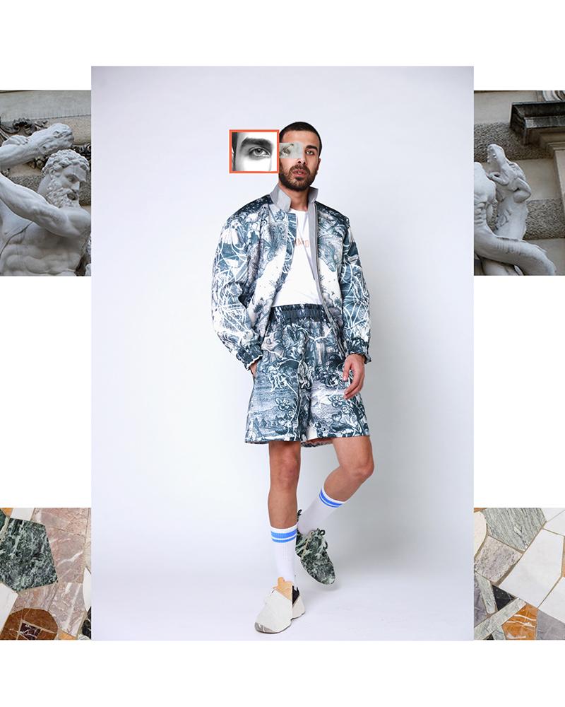 Hussein Bazaza bomber jacket fashion