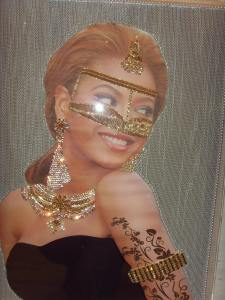 Emiratised Beyonce Popart picture