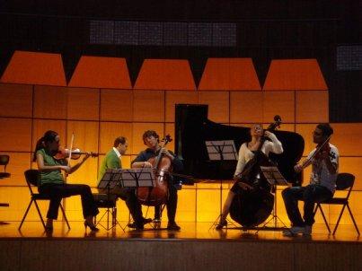 2010 - Unwritten on the Scores for Kids at İş Sanat, Istanbul Schubert Trout with Deniz Toygür, Can Şakul, Paul Zabrowarny & Bade Bayazıtoğlu