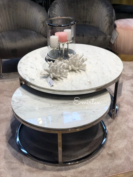 Couchtisch Marmor Optik Oval : couchtisch, marmor, optik, Richmond, Couchtisch, Levanto, Marmor, Emirtex