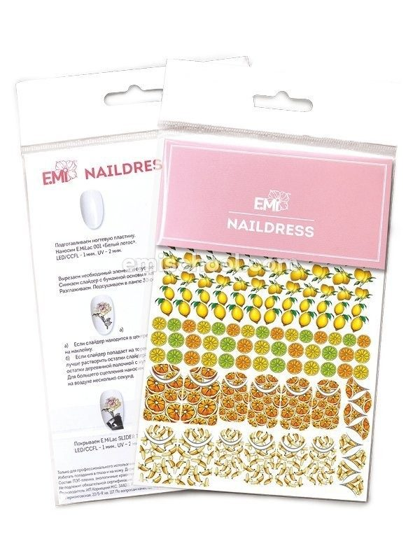 Naildress Slider Design Nr.7 Citrus