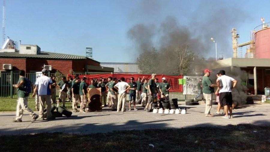 Horas decisivas en el conflicto de la aceitera Entre Ríos Crushing
