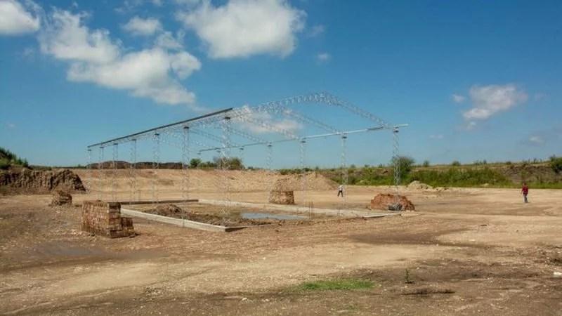 En Valle María construyen una planta de tratamiento de residuos