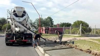 Photo of Continúa la construcción de la bicisenda en El Triangular