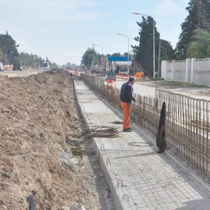 Las obras de la autovía ya se concretaron en un 60 %