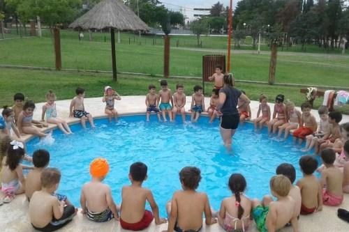 escuela de natacion oro verde