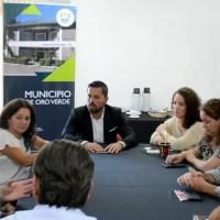 Intendentes vecinalistas de Entre Ríos fueron recibidos por Toledo