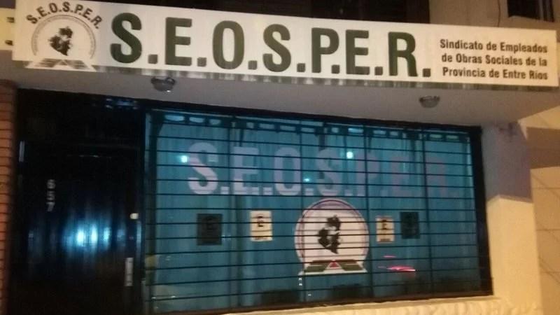 El Seosper enojadísimo con el presidente del Iosper