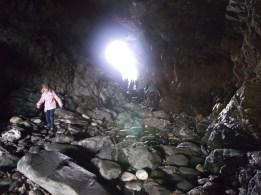 Tintagel, Cornwall, Merlin's Cave, 2013