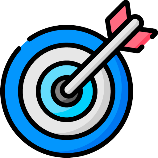 arrow pinned to target