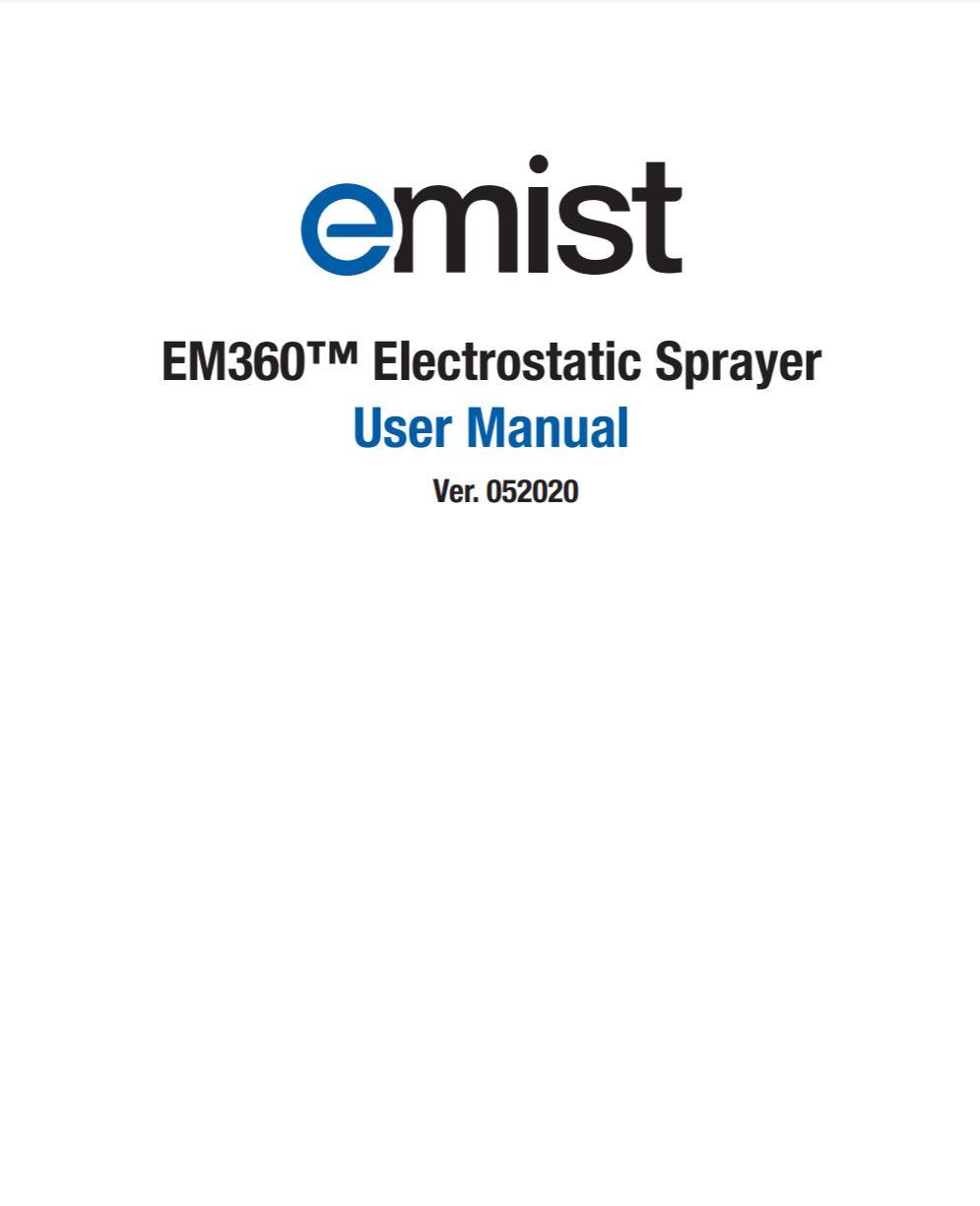 EMist EM60 User Manual PDF image thumbnail