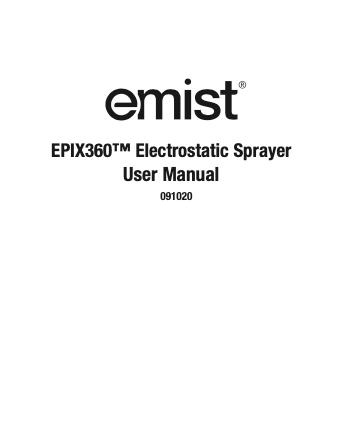EPIX360 User Manual image 9.20