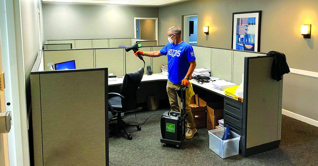 Using an EMist sprayer