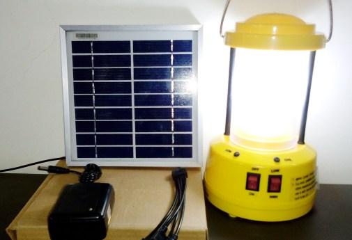 Solar - LED Lantern