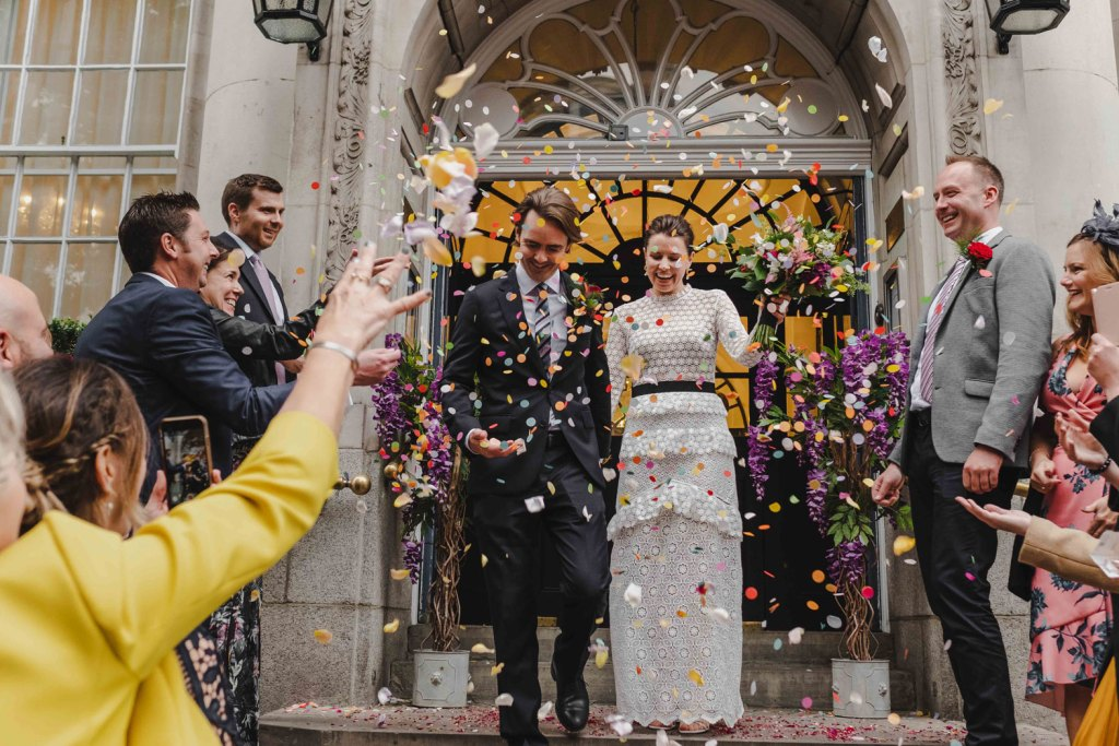 wedding at the chelsea town hall