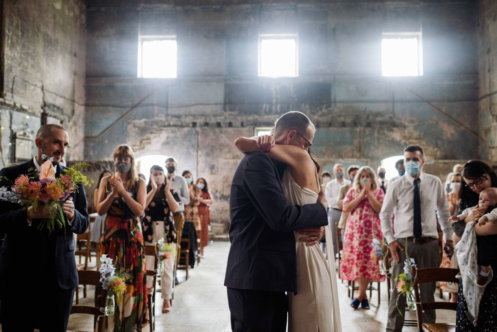 married at the asylum chapel in south London, Peckham