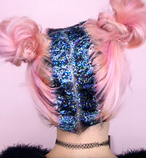 Image result for glitter roots