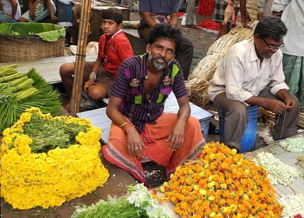 sprzedawca_kwiatow_Kalkuta