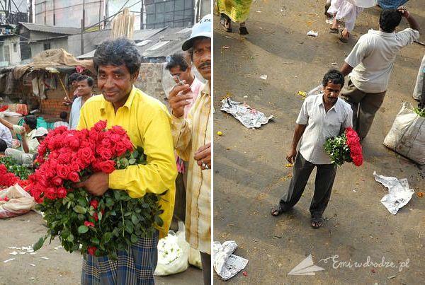 sprzedawcy_targ_kwiatowy_Kalkuta