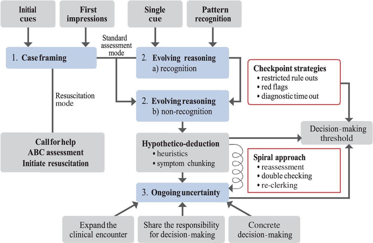 Clinical Reasoning Of Junior Doctors In Emergency Medicine
