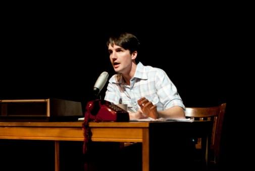 Greater Tuna, 2012 - Thurston Wheelis (Nathaniel Rothrock), local radio announcer
