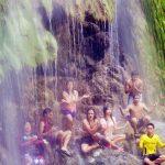 meditation at tumalog falls oslob cebu