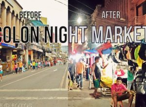 Colon Night Market Cebu Transformation