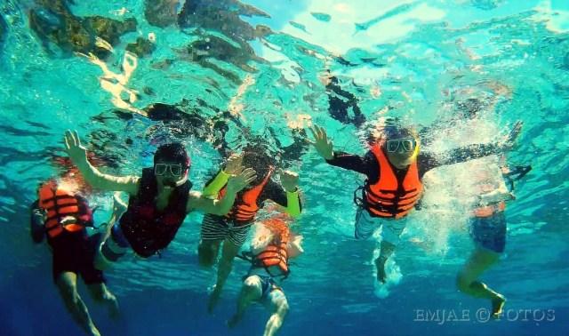 Snorkeling Water El Nido Island Hopping Barkada Goals