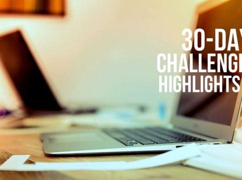 30 Day Challenge Highlights Emjae Fotos