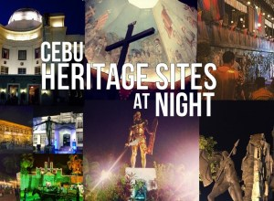 Cebu Heritage Sites At Night