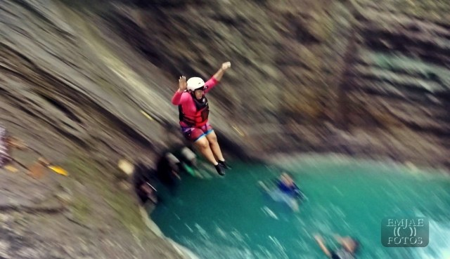 Motion Slide 3 Canyoning Canyoneering in Cebu
