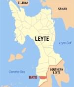 Bato Baywalk Bato Leyte Map