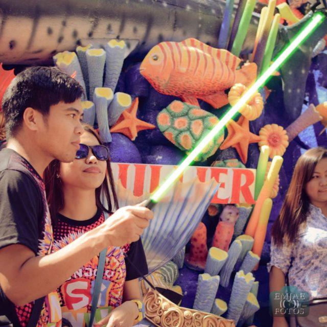 Green Sinulog Star Wars Cebu Lightsaber