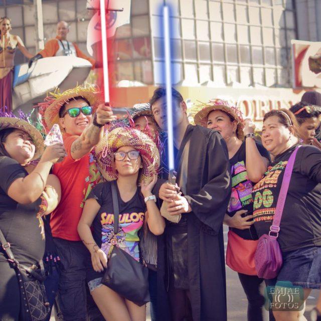 Group Sinulog Star Wars Cebu Lightsaber