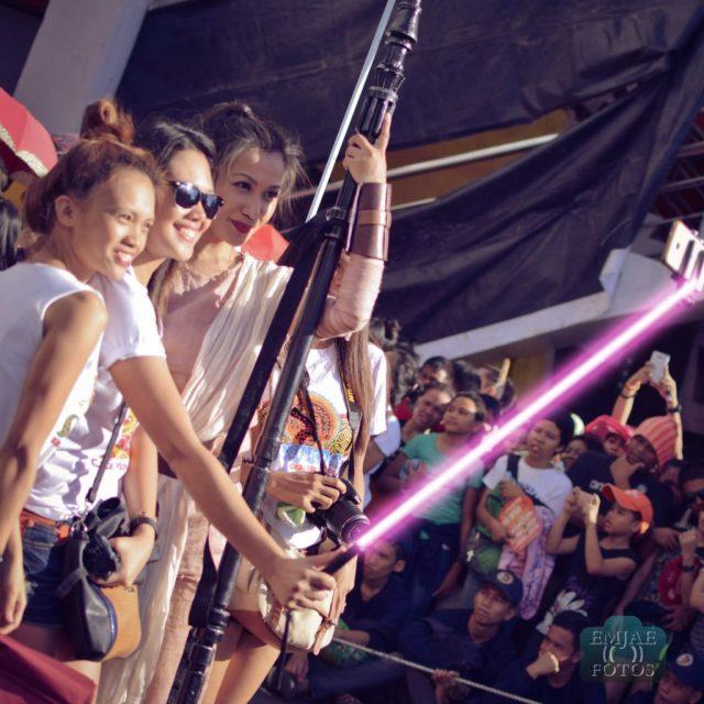 Rey Group Sinulog Star Wars Cebu Lightsaber
