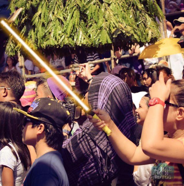 Yellow Sinulog Star Wars Cebu Lightsaber