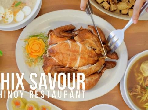 Chix Savour Chinoy Restaurant cover
