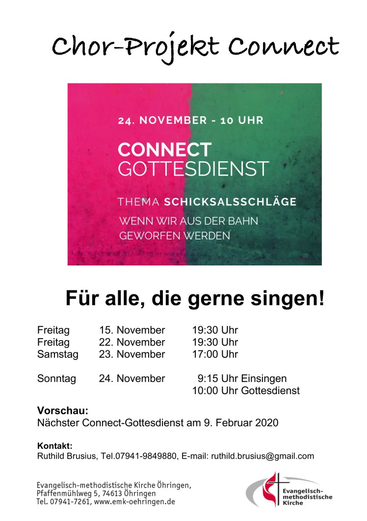 Chor-Projekt Connect 2019-11