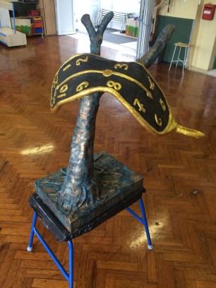 Dali style sculpture