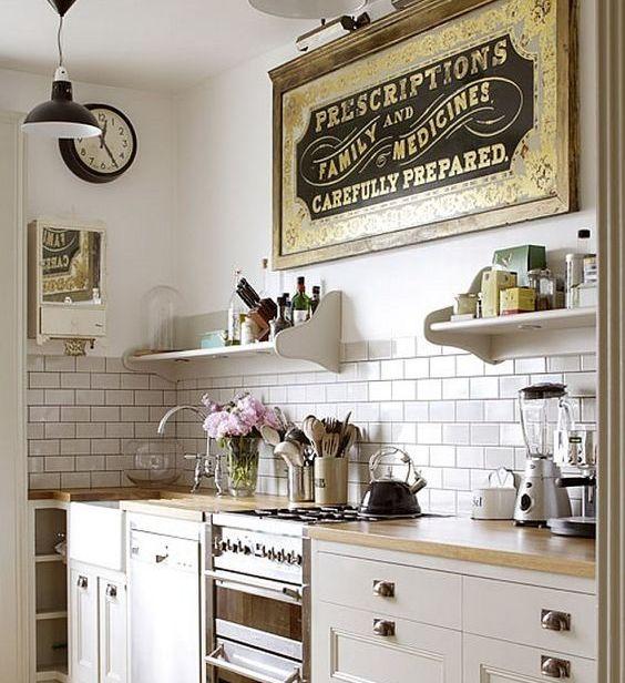 Country Kitchen Tile Backsplash Ideas: Makeover