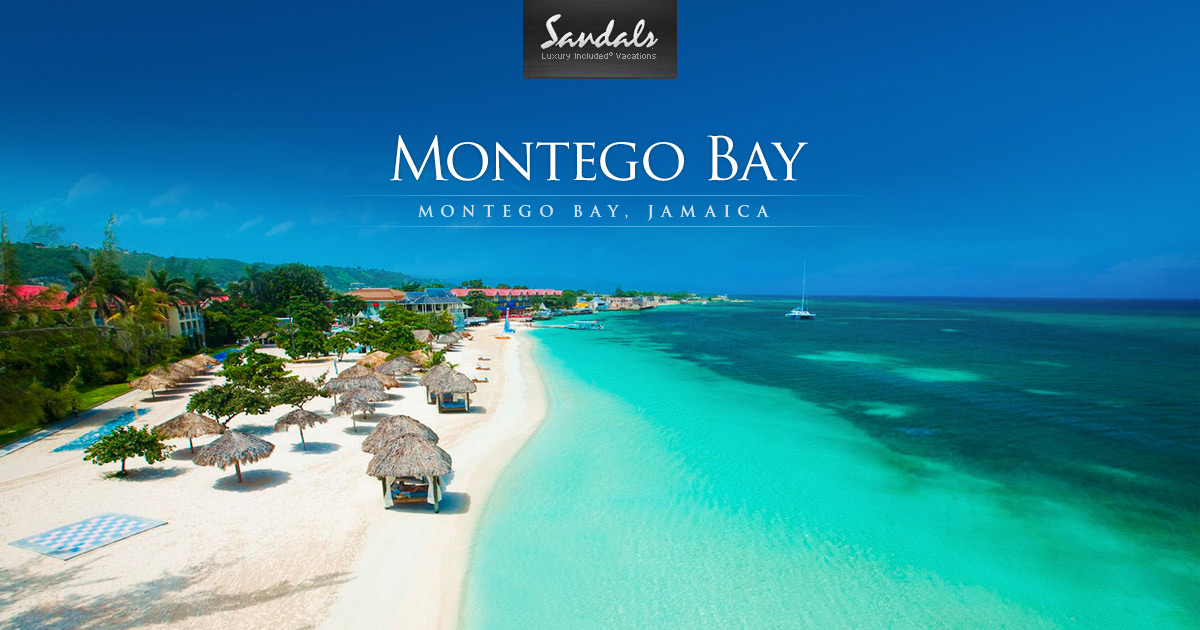 Sandals Montego Bay Luxury Resort in Montego Bay Jamaica  Sandals