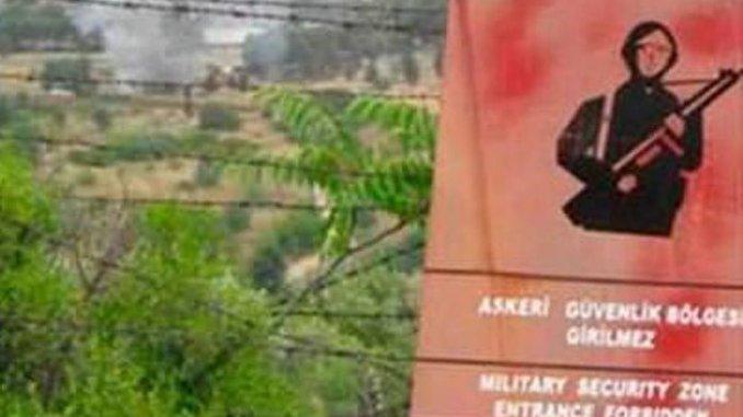 askeri alan