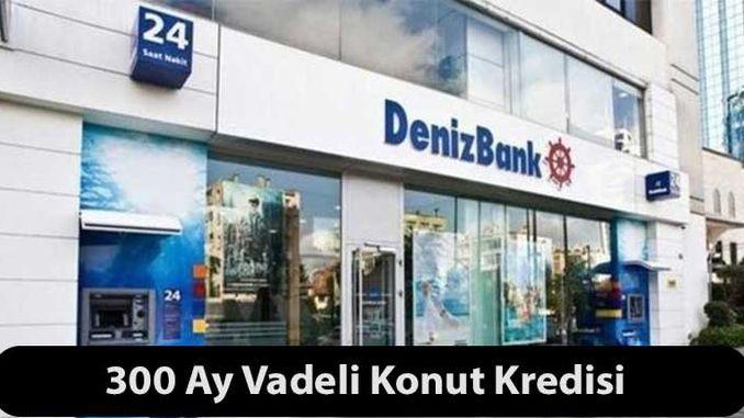 Denizbank Mortgage Konut Kredisi