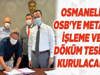 Osmaneli OSBye Kurulacak Olan Tesis