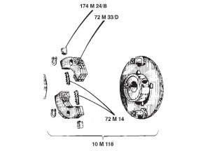 Suzuki Rg Sport 110 Auto Clutch : á—›engine Clutch Outer