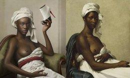"""Retrato de uma negra"", de Marie-Guilleme Benoit"