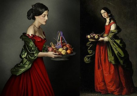 """Santa Doroteia"", de Francisco De Zurbaran"